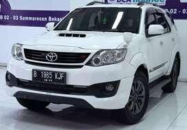 FORTUNER TRD SPORTIVO VNT TURBO Diesel AT 2015 Putih Super Istimewa