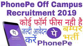 Phonepe Receptionist cum CCE jobs in Delhi