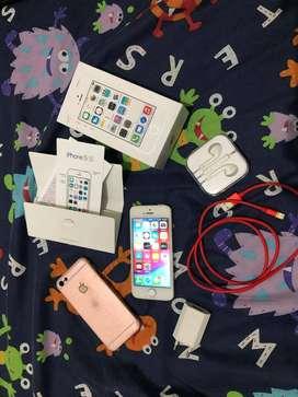 Original Iphone 5s 16GB (Putih/Silver)
