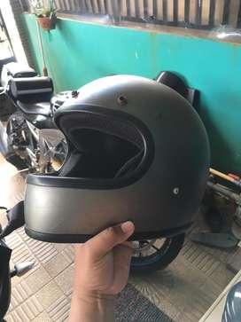 helm retro cocok buat motor custom