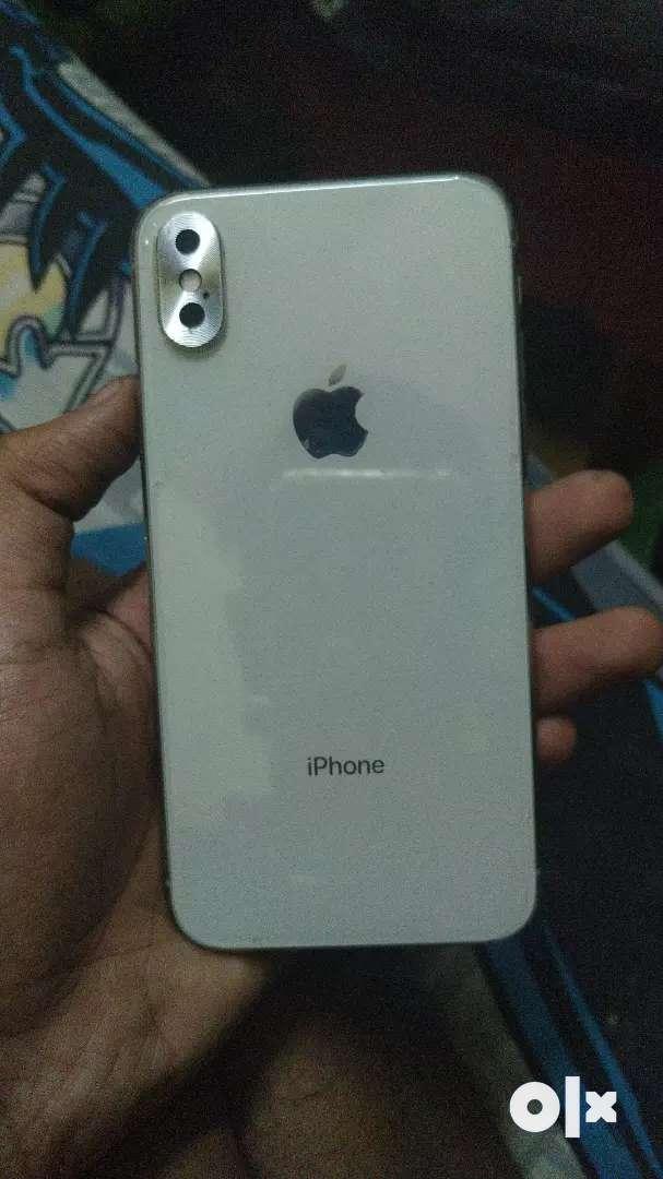 Iphone x silver 64gb 0