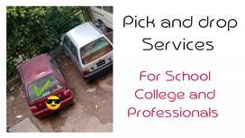 Pick and drop in Peshawar for students teachers doctors etc