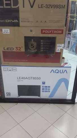 TV led aqua /sanyo 40 in  baru bisa dikirim bayar ditempat