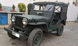 Willys-ford jeep 1948 model (CJ2A) LHD, original 1948 CJ2A