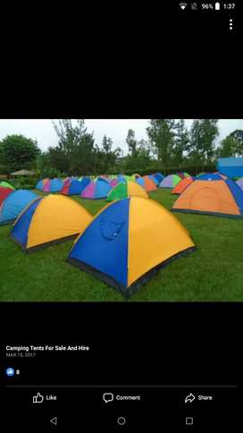 Different types of Camping tents available