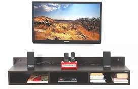 Wooden TV wall unit showcase