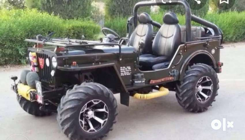 Open modified Willy jeep 0