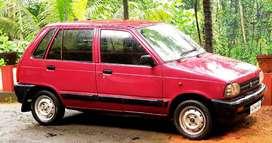 1998- AC -Gas maruti 800 for sale
