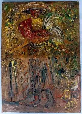 Lukisan Affandi bersertifikat