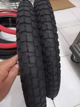 Ban luar sepeda BMX 20 ukuran 20x3.0 tebal(baru).