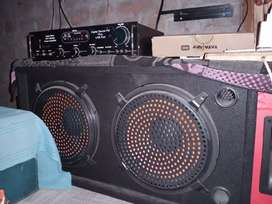 Speaker and amplifier Bluetooth with fan