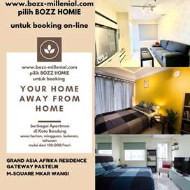 Disewakan Apartemen Grand Asia Afrika di Pusat Kota Bandung