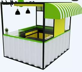 BOOTH SEMI CONTAINER /BOOTH CONTAINER/TRUCK CONTAINER/FOOD CONTAINER