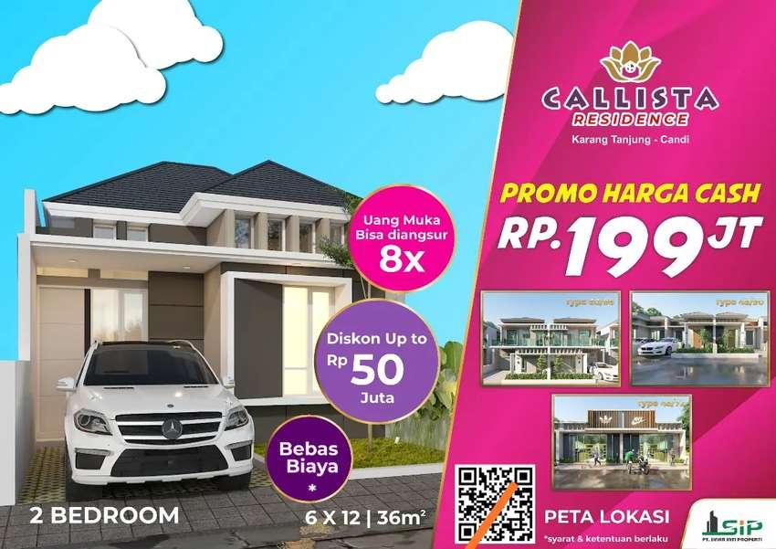 Rumah murah mewah Sidoarjo Callista residence