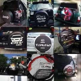 Sarung Ban Serep Mobil Terios/Escudo/Rush/Jeep/Dll BisaDesainSediri 20