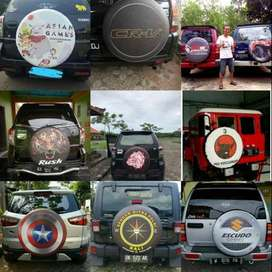Cover/Sarung Ban Terios/Escudo/Daihatsu Taft/Rush/Pemurah#Indonesia 3D