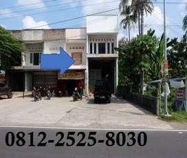 Rumah sekaligus gudang cocok untuk pengusaha pinggir jalan ramai yogya