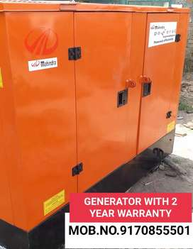 GENERATOR WITH 2 YEAR WARRANTY N FREE SERVICE AND DELIVERY
