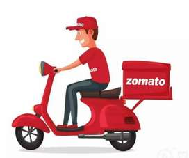 Immediately haring food delivery job