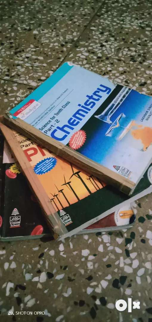 Class 10 s-chand physics,chemistry and biology. 0