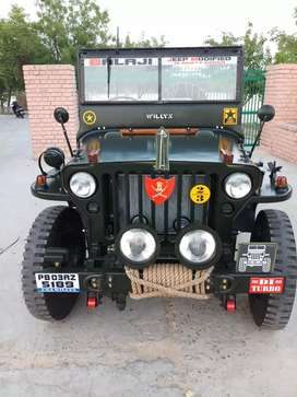 Hunter modified open Willys jeeps are available