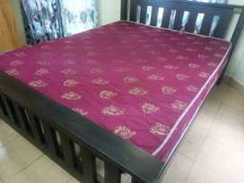 Queen size bed only (6 1/4 - 5) good condition for sale