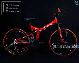 TCH PRO FOLDABLE BICYCLE WITH  21GEAR COMBINATION