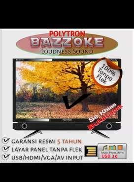 BARU & BERGARANSI RESMI LED TV POLYTRON 20D9501 20 IN (GARANSI RESMI)