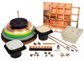 Earthing Material , Lights , Fire Fighting and Fire Alarm
