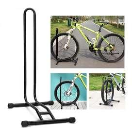 Stand Parkir Sepeda Bicycle Racks Floor Standing Bike Display Black