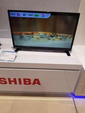 """Tv Led Toshiba 24"""" Bisa kredit gratis 1x angsuran tanpa cc"""