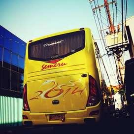 Bus Medium HINO MDBL 2014 seat 33