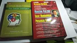 Jual bermacam buku motivasi, marketing, bahasa, sosial, , kamus, TOEFL