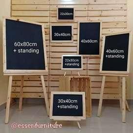 Blackboard papan tulis kapur