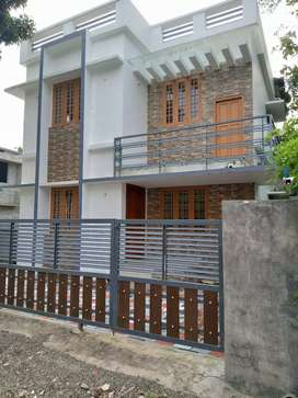 3 bhk 1350 sqft 3 cent new build house at paravoor near cheriyapally