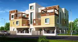 FLAT (1, 2 & 3 BHK) for sale near ITER College ,Jagamara
