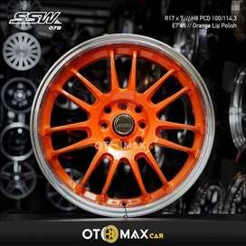 Velg Mobil SSW 078 Ring 17 Orange Lip Polish