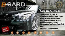 B-GARD Ceramic Plus UV400 | TolakPanas Infrared 98% Kaca film UVR 99%