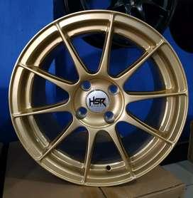 Jual velg racing HSR Ring 15 Untuk mobil Agya, Sirion, Brio, Calya