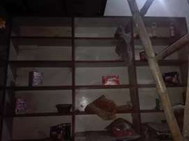 chipboard Shop rack used for sel