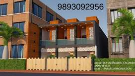 1 Bhk house with car parking and balcony