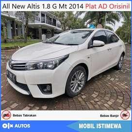 All New Altis 1.8 G Manual 2014 AD Tgn1 Orisinil Bisa Kredit