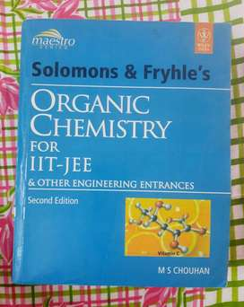Organic chemistry book for iit jee