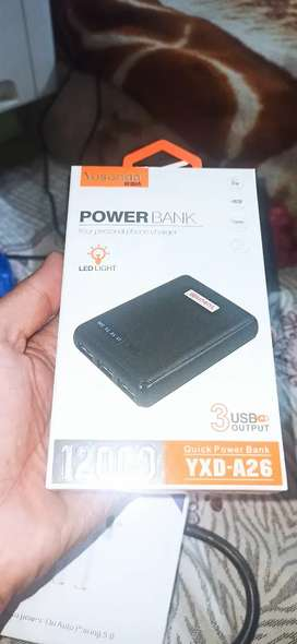 Original Power Bank Yosonda 12,000 mAh