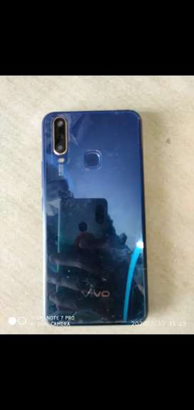 Vivo v15 4/64 nly 9 months old with box bill and all acceceries