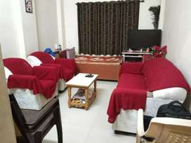 Road touch 1BHK but big carpet area  734 sqft for
