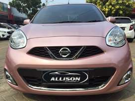 Nissan March 1.2L AT 2016 Pink Limited TDP 18JT Shayyy