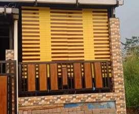 Tiray kayu Meranti motif dan polos