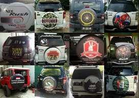 Cover/Sarung Ban Toyota Rush/Terios/Panther/CRV dan jeep cakar harimau