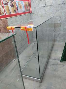Glass counters